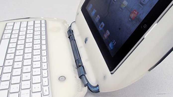 なんとiBookをiPadのキーボードにしちゃった!