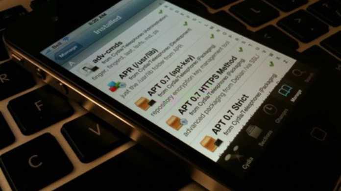 iPhone 4、今朝に脱獄される。