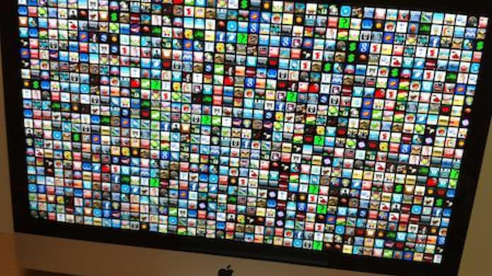 MacにiOSアプリアイコンが舞うスクリーンセーバー「AppWall Screensaver -WWDC style! 」