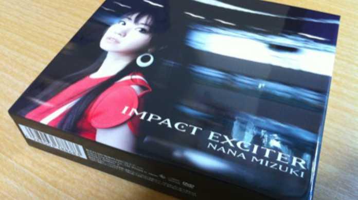 水樹奈々の8枚目のアルバム「IMPACT EXICTER」買ってきてたフォトレビュー!