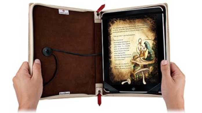 iPadが味のある古書っぽくなるカバー「BookBook」