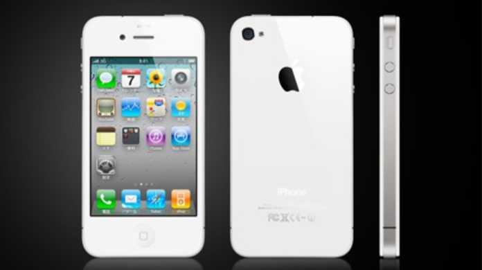 iPhone 4ホワイトモデルがマジマジと拝めるムービー。