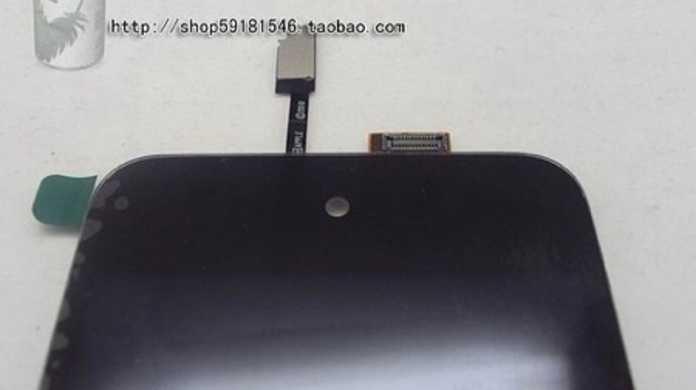 中国で第4世代iPod touchのフロントパネルが販売中。