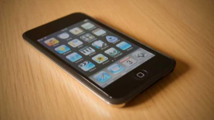 第4世代iPod touchはバイブ付き。ますますiPhoneと変わらんくなったね。。