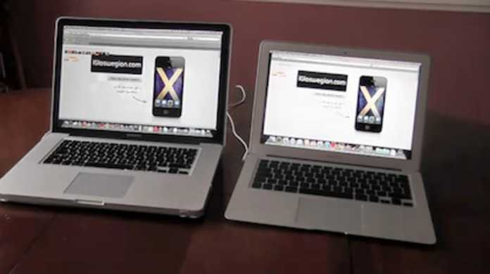 新MacBook Airの速さはガチ!MacBook Pro Mid 2010との起動勝負で圧勝してるムービー。
