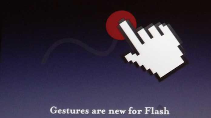 Adobe、MacBook Airに最適化されたFlashをテストなう。