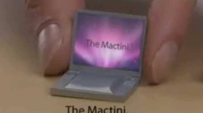 MacBook Airより圧倒的にコンパクトな Mactini の登場です!