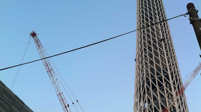 現在建設中の東京スカイツリーの写真をパシャパシャ撮ってきた!