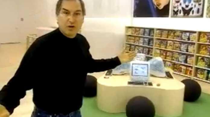 スティーブ・ジョブズ御大自らが、Apple Storeをプレゼンしてるムービー