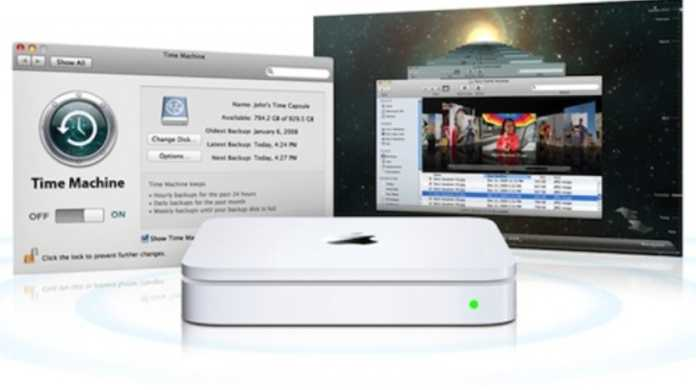 iPhone、iPadもTime Machine対応へ? 新しいTime CapsuleにはiOSとA5チップが搭載の噂