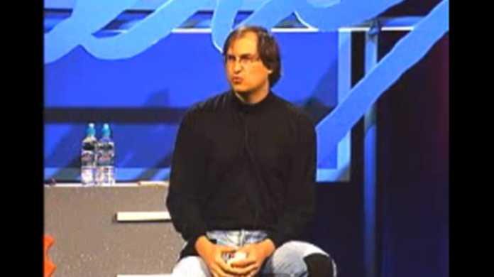 スティーブ・ジョブズがAppleに復帰初のWWDCで行ったプレゼンテーション動画