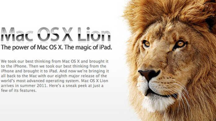 Mac OS X Lionの発売日は7月14日か。MacBook Airも同時発売!?