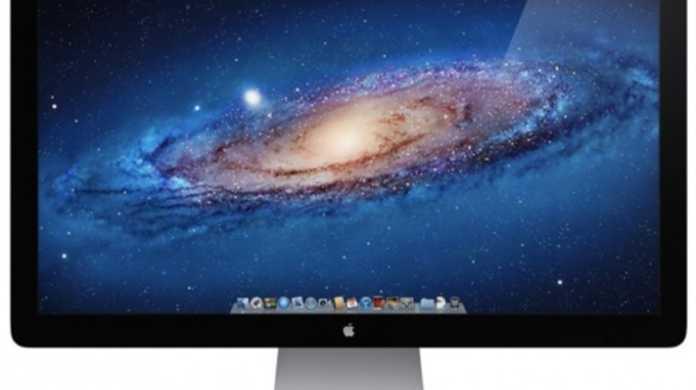 Thunderbolt を備えた Cinema Display 27インチ まもなく登場。Apple Storeにその痕跡。