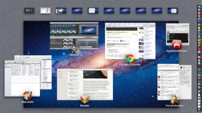 【動画で解説】Mac OS X LionのMission Control(ミッションコントロール)はちょー便利!