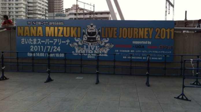 水樹奈々のライブ「NANA MIZUKI LIVE JOURNEY 2011 in さいたまスーパーアリーナ」参加レポート & セットリスト