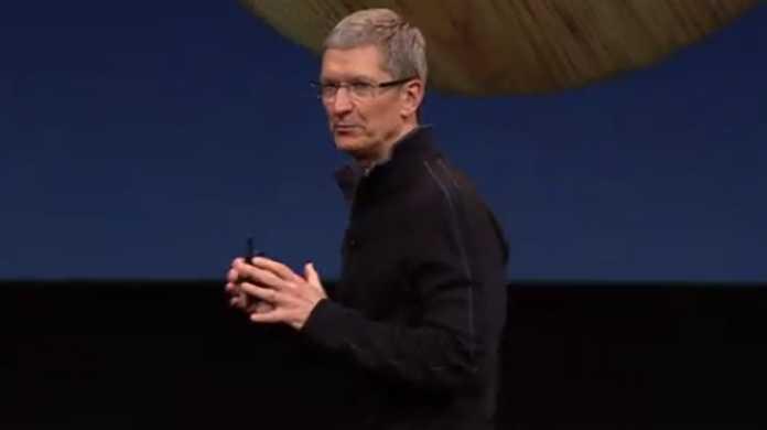 Appleの新CEOティム・クックがプレゼンしているムービー。