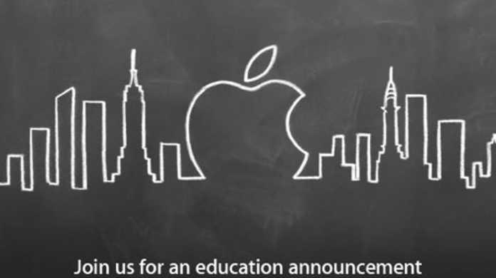 アップル、2012年1月19日に教育に関するスペシャルイベントを開催すると発表。