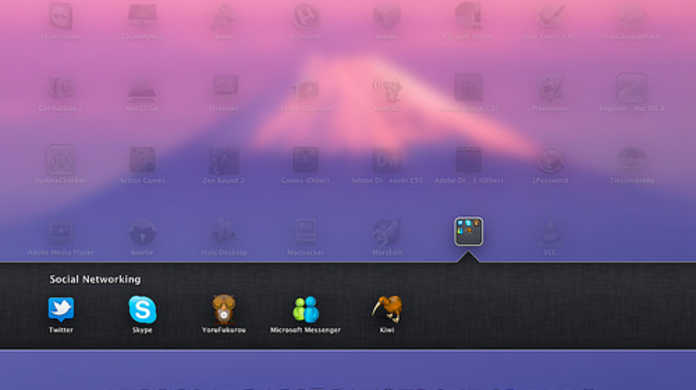 Mac OS X Lionには、Launchpadの背景をハッキリ表示させるショートカットキーが存在した!