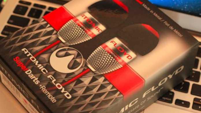 【イヤホン】Atomic Floyd SuperDarts+Remote(SAF-EP-000013)開封の儀!格好良くてバランスのとれた音質で大満足!