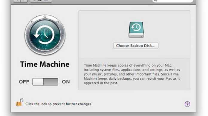 Time Machineでバックアップできない場合の対処方法。