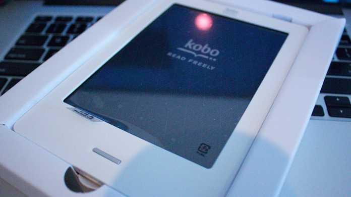 電子ブック楽天 kobo Touch のセットアップ(初期設定)方法