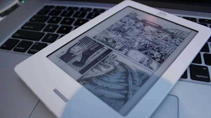 楽天kobo Touchで自炊した本や漫画を読む方法【PDFは微妙、CBZはOK】