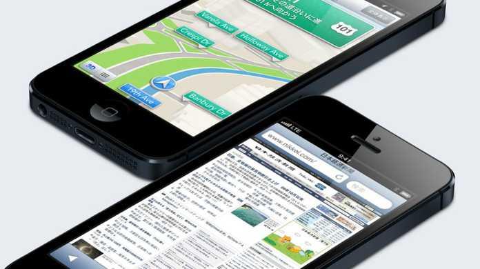 iPhone 5はメモリもベンチマークスコアもiPhone 4Sの2倍以上。