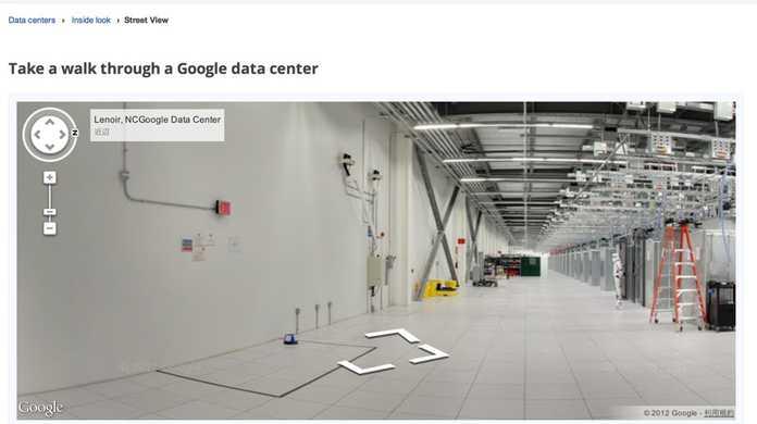 初公開!Googleのデータセンターの内部は凄い綺麗でござるっ!