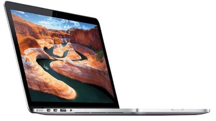 13インチ版MacBook Pro Retinaディスプレイモデルのベンチマークスコアは15インチ版を大きく下回る結果に。
