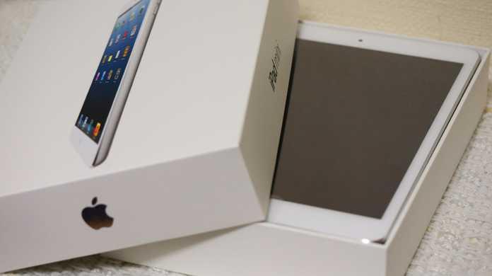 iPad miniの充電時間はそれほど遅くない。iPad 2とだいたい同じくらいのバッテリー性能。