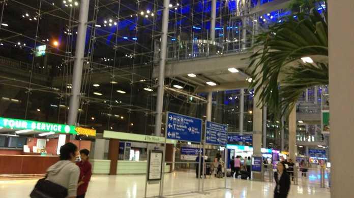 タイ・バンコクに到着!スワンナプーム国際空港はちょー綺麗! #ブログ観光大使