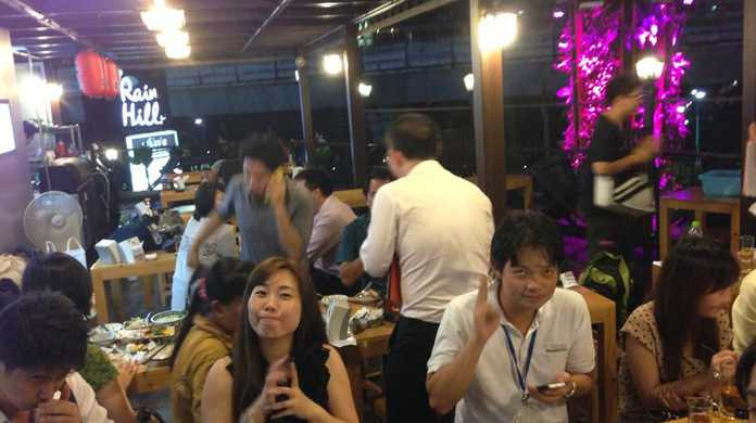 日本が好きなタイ人のオフ会 in 九州酒場 どんたくに参加してきたよ! #ブログ観光大使
