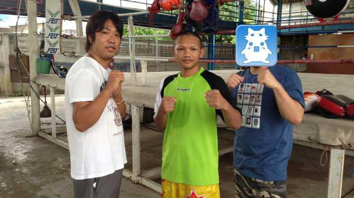WBO世界バンタム級チャンピオン「プンルアン・ソー・シンユー」のムエタイジムに行ってきた!キックを教えてもらったよ! #ブログ観光大使
