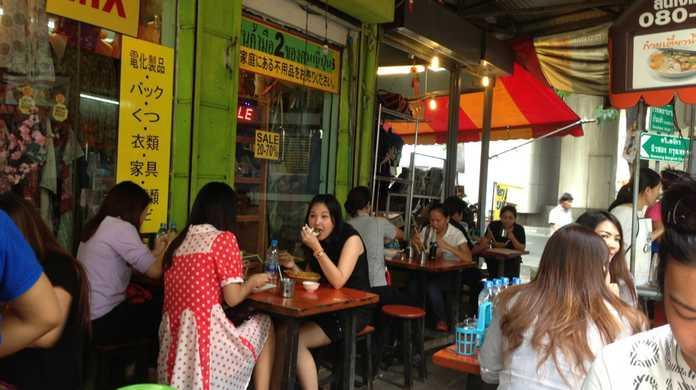 バンコク・スクンビット ソイ39にあるタイ料理屋台「イムチャン」がちょーうまかった件! #ブログ観光大使