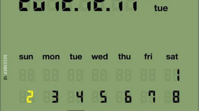 目覚まし時計に最適!iPhone時計&カレンダーアプリ「LCD Clock」を使ってみた!