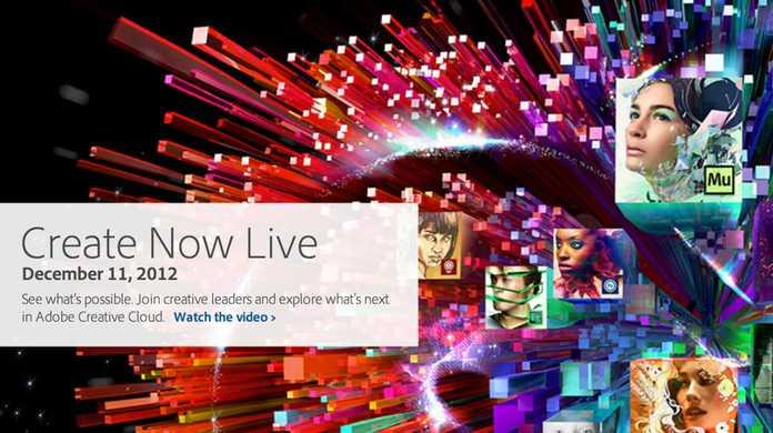 Adobe、Creative Cloudをメジャーアップデート。本日午後13時から新機能を全て見られる「Create Now Live」も配信。