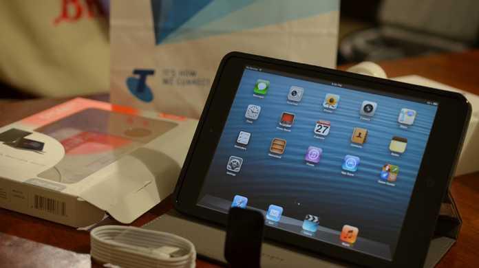iPad mini Wi-Fi + Cellularモデルの在庫が改善している。