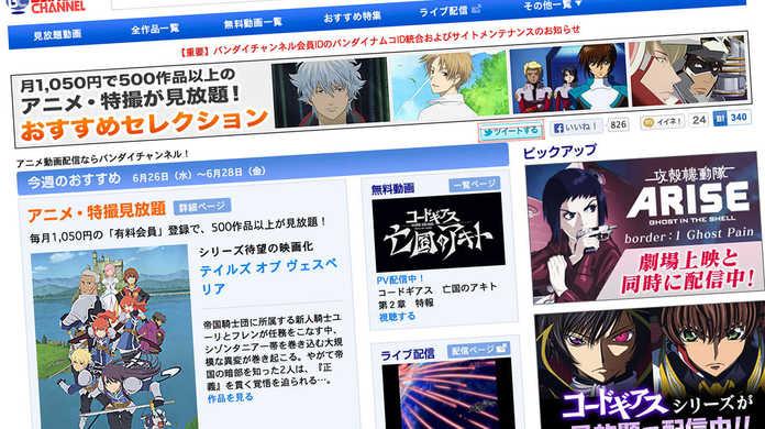 名作アニメを一気見するならレンタルより「バンダイチャンネル」がおすすめな5つの理由