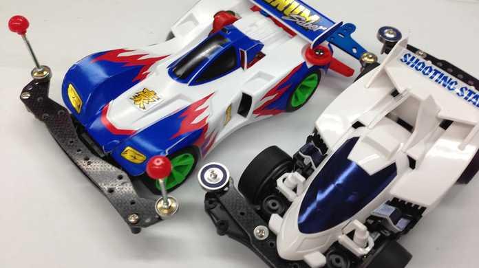 3,000円でどっちが速いミニ四駆を作れるか勝負!