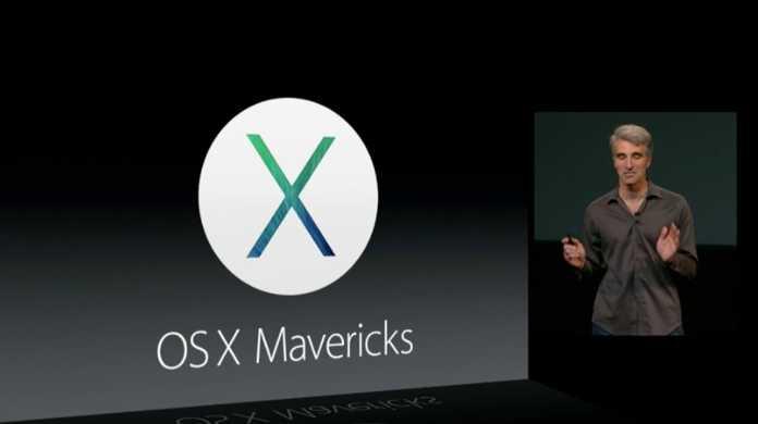 【速報】なんと無料!OS X Mavericks(マーベリックス)が本日リリース決定!