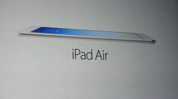【速報】iPad Airが発表!発売日は11月1日!価格は499ドル(約4.8万円)から。