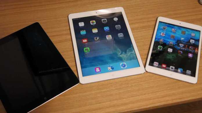 【レビュー】iPad Air Wi-Fi + Cellularモデルを初代iPad miniやiPad 3と比較して感じたこと。