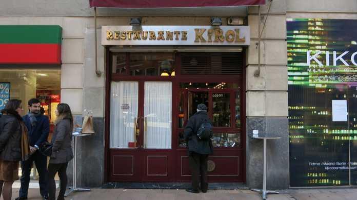 バスク地方ビルバオの「Restaurante KIROL」で食べたピンチョスとワインがめちゃめちゃ美味かった!(スペイン)
