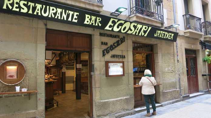 【サン・セバスチャン】ここの串焼きピンチョスはマジ絶品!「RESTAURANTE BAR EGOSARI」もめちゃ美味かった!(スペイン)
