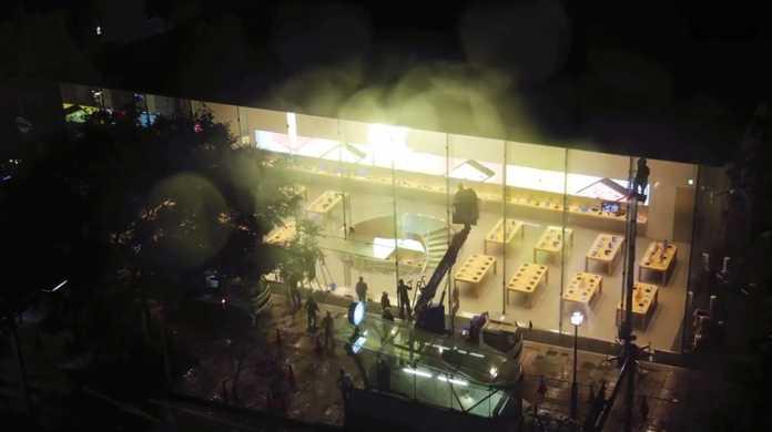 【明日開店】Apple Store 表参道店の開店準備の模様を拝めるムービー