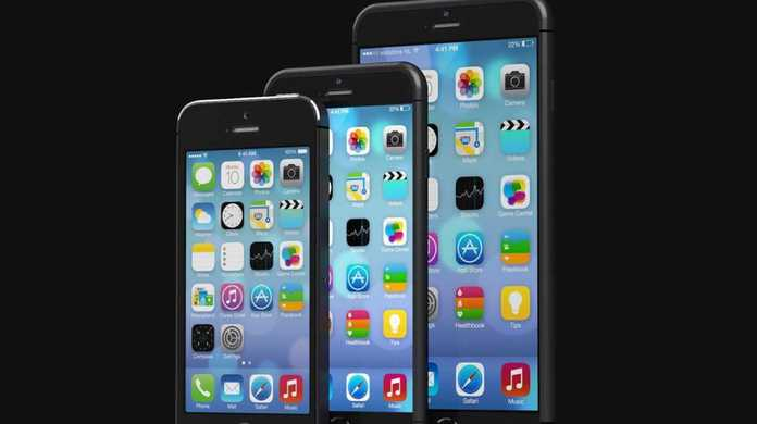 iPhone6の価格表が公開?iPhone 5sと比較してみたが画面のデカさがモロに・・・。