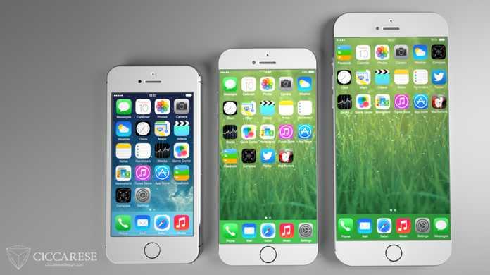 5.5インチ版の次期iPhoneの正式名称は「iPhone 6 Plus」か?カラーバリエーションは従来通り?