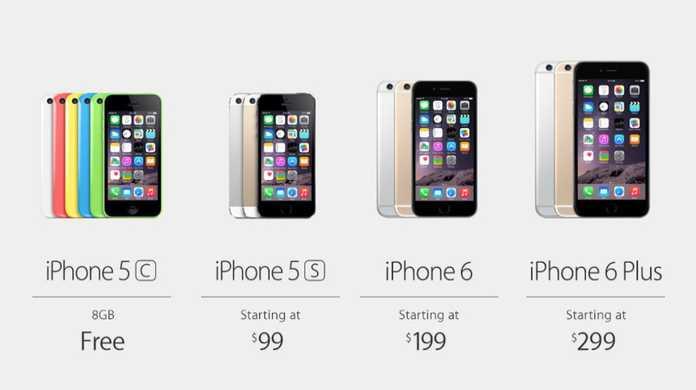 【速報】iPhone 6とiPhone 6 Plusの価格が発表。128GBモデルが追加。