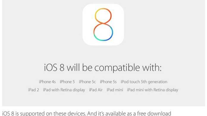 【速報】iOS 8は2014年9月17日から提供開始。