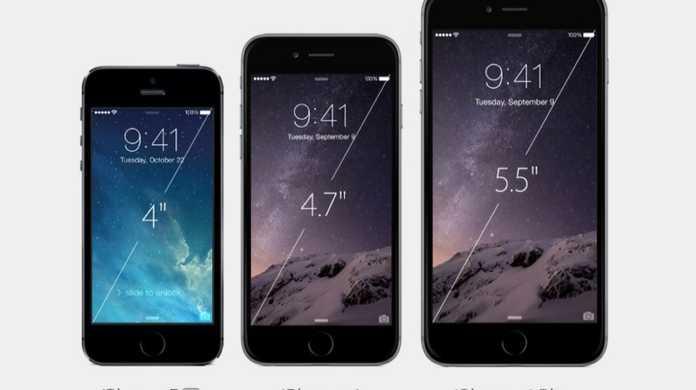 【徹底比較】iPhone 6 / iPhone 6 Plus / iPhone 5s / iPhone 5のスペック&価格の比較表!